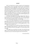 Tiểu luận: Nông nghiệp Bến Tre tìm năng và hướng phát triển