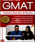 Manhattan GMAT Guide 1 Fractions, Decimals, And Percents