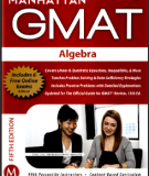 Manhattan GMAT Guide 2 Algebra