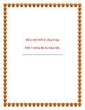 Phân tích triết lý sống trong Hồn Trương Ba da hàng thịt