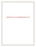 Văn mẫu lớp 9: Liên kết câu và liên kết đoạn văn
