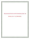 Phân tích bài thơ Chiều tối của Hồ Chí Minh để làm nổi bật tinh thần thép hoặc nét cổ hiện đại