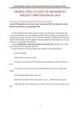 Giáo trình Hướng dẫn cơ bản về Microsoft Project Professional 2010