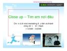 Chiến lược Viral marketing: Close up – Tìm em nơi đâu