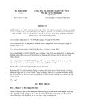 Thông tư 73/2013/TT-BTC