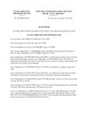 Quyết định 3287/QĐ-UBND năm 2013