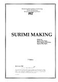 Tiểu luận: Surimi công nghệ chế biến thịt, thủy sản