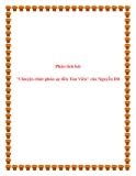 Văn mẫu lớp 10: Phân tích bài Chuyện chức phán sự đền Tản Viên của Nguyễn Dữ