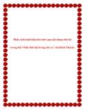Văn mẫu lớp 11: Phân tích tinh thần thơ mới qua nội dung chữ tôi trong bài Một thời đại trong thi ca của Hoài Thanh
