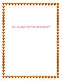 """Văn mẫu lớp 11: Đọc - hiểu đoạn trích """"Vào phủ chúa trịnh"""""""