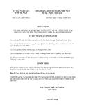 Quyết định 26/2013/QĐ-UBND ban hành Quy định công tác tổ chức xử lý rác thải