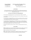 Quyết định 1068/QĐ-UBND năm 2013