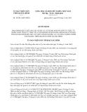 Quyết định 10/2013/QĐ-UBND năm 2013