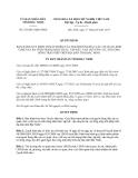 Quyết định 183/2013/QĐ-UBND