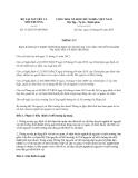 Thông tư 11/2013/TT-BTNMT quy định thời hạn bảo quản hồ sơ, tài liệu chuyên ngành tài nguyên và môi trường do Bộ trưởng Bộ Tài nguyên và Môi trường ban hành