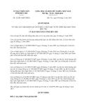 Quyết định 12/2013/QĐ-UBND năm 2013