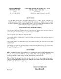 Quyết định 1075/QĐ-UBND năm 2013