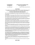 Quyết định 1184/QĐ-UBND năm 2013
