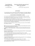 Quyết định 1494/QĐ-UBND năm 2013