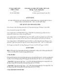 Quyết định 661/QĐ-UBND năm 2013