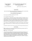 Quyết định 27/2013/QĐ-UBND