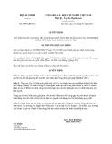 Quyết định 1089/QĐ-BTC năm 2013
