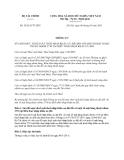 Thông tư 58/2013/TT-BTC