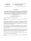 Quyết định 09/2013/QĐ-UBND năm 2013