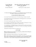 Quyết định 09/2013/QĐ-UBND về Quy chế quản lý, vận hành, khai thác hệ thống một cửa điện tử trên địa bàn tỉnh Hậu Giang