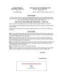 Quyết định 998/QĐ-UBND năm 2013