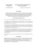 Quyết định 24/2013/QĐ-UBND năm 2013