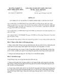 Thông tư 23/2013/TT-BNNPTNT