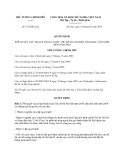 Quyết định 725/QĐ-TTg năm 2013