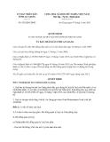 Quyết định 829/QĐ-UBND năm 2013