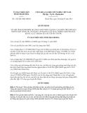 Quyết định 1525/2013/QĐ-UBND năm 2013