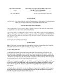 Quyết định 2836/QĐ-BCT năm 2013