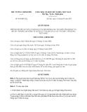 Quyết định 843/QĐ-TTg năm 2013