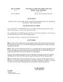 Quyết định 951/QĐ-BTC năm 2013