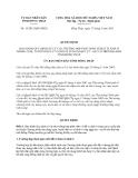 Quyết định 15/2013/QĐ-UBND về Quy định xử lý trường hợp phát sinh về đất ở