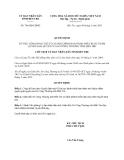 Quyết định 746/QĐ-UBND năm 2013