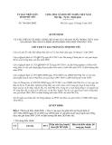 Quyết định 748/QĐ-UBND năm 2013