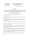 Quyết định 20/2013/QĐ-UBND năm 2013