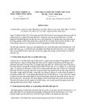 Thông báo 2052/TB-BNN-VP ý kiến kết luận của Bộ trưởng Cao Đức Phát tại cuộc họp trực tuyến về công tác bảo vệ và phát triển rừng năm 2013 do Bộ Nông nghiệp và Phát triển nông thôn ban hành
