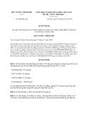 Quyết định 698/QĐ-TTg năm 2013