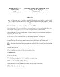 Thông tư 06/2013/TT-BTNMT Danh mục lĩnh vực, ngành sản xuất, chế biến có nước thải chứa kim loại nặng phục vụ tính phí bảo vệ môi trường đối với nước thải do Bộ trưởng Bộ Tài nguyên và Môi trường ban hành