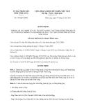 Quyết định 750/QĐ-UBND năm 2013