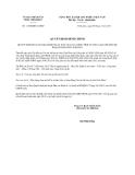 Quyết định 1145/QĐĐC-UBND năm 2013