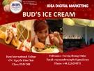 Đề tài: Digital Marketing kem Bud's