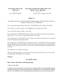 Thông tư quy định về cho vay hỗ trợ nhà ở theo nghị quyết số 02/nq-cp ngày 07 tháng 01 năm 2013 của chính phủ