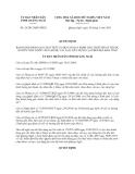 Quyết định 26/2013/QĐ-UBND về bảng giá cho thuê nhà